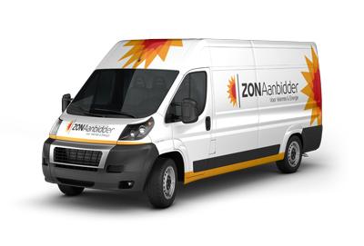 ZONaanbidder bedrijfsbus