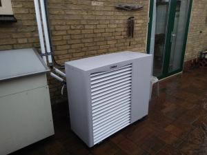 monoblock lucht-water warmtepomp